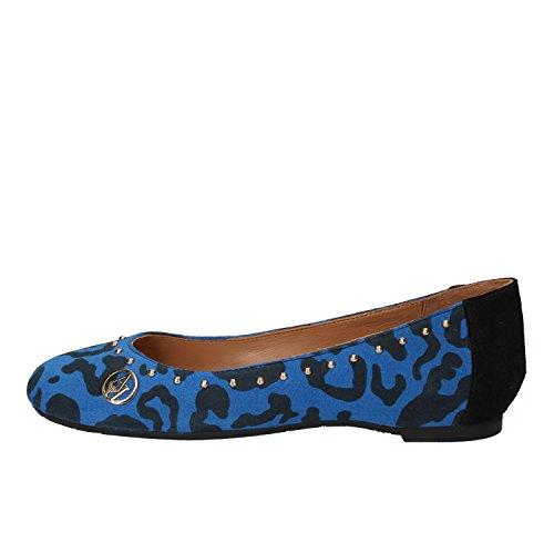 Armani Jeans - Bailarinas para mujer Azul azul Blu