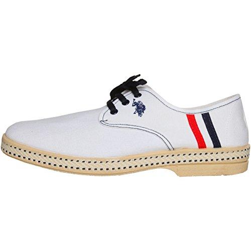 U.S. Polo LIDO4338 MARBELLA Herrenschuhe, Sneakers, Halbschuhe EU40 44 45, UK 6, 10, 11 weiß