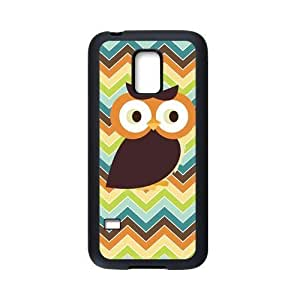 Owl Chevron Print Personalized Custom Case For SamSung Galaxy S5 mini