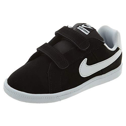 - Nike Court Royale (TDV) Boys/Girls Style: 833537-002 Size: 10 Black/White