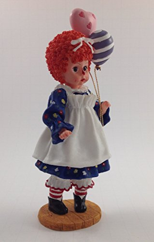 (Madame Alexander Mop Top Wendy Raggedy Ann Figurine Classic Collectibles Balloons )