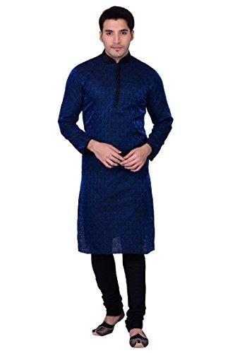 Manyavar Blue Kurta Set, (Large Blue Kurta)