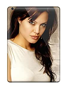 High Quality Shock Absorbing Case For Ipad Air-angelina Jolie