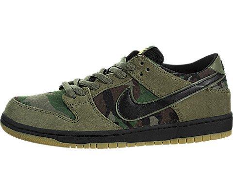 Nike Skateboard Dunks (Nike Men's SB Zoom Dunk Low Pro Medium/Olive/Black Skate Shoe 10.5 Men US)