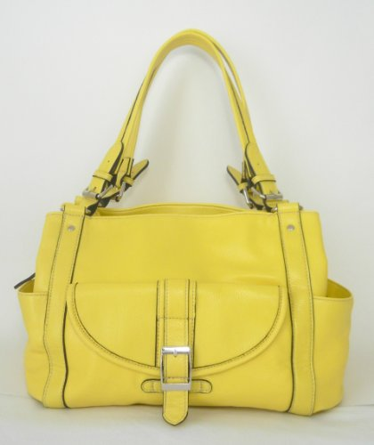 Concealed Carry Purse - Locking CCW Gun Purse - Addison in Lemon Yellow by Fayth Concealed Carry