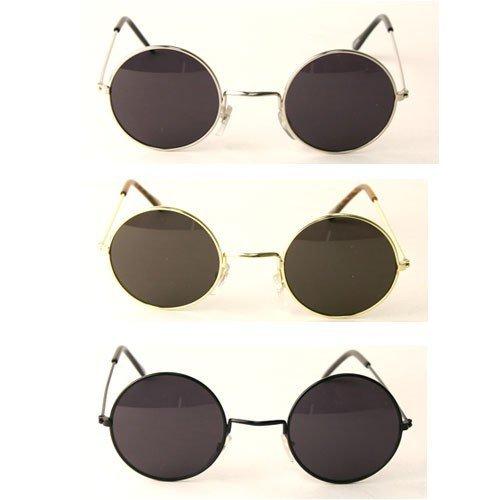 John Lennon Glasses (UB John Lennon Style Sunglass - Silver Smoke)