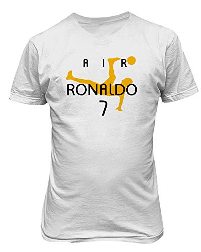 KING THREADS Cristiano Ronaldo Juve Air Ronaldo T-Shirt