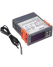 STC-1000 Controlador de Temperatura Digital de Aquecimento de Refrigeração Centígrados Termostato 2 Relés de Saída com Sensor