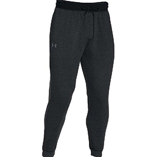 Under Armour Men's UA Sportstyle Fleece Jogger Pants, Asphalt Heather/Black, Small