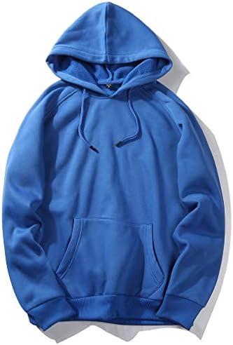 Mens Pullover Stitch Big & Tall Big Pockets Tunic Hoodie Sweatshirts