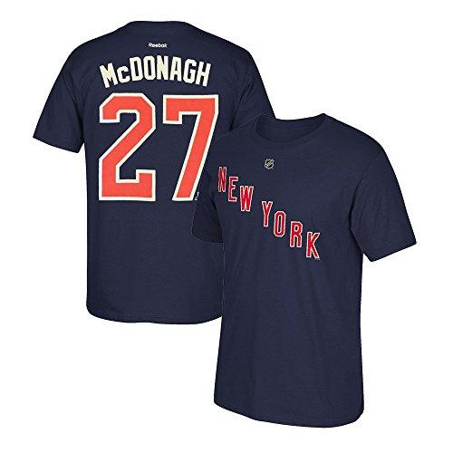 adidas Ryan McDonagh Reebok New York Rangers Premier Player Jersey T-Shirt Men's