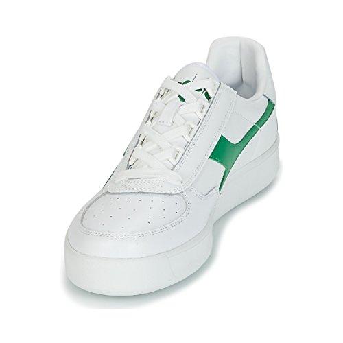 Scarpe Bianco Adulto Sportive bco P Crema verde bco B bco Unisex C7373 Diadora Elite AwqxEUTYA