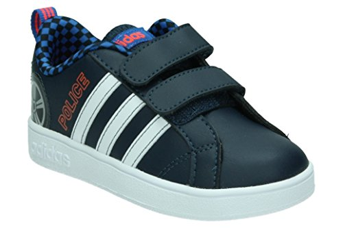 adidas VS ADVANTAGE CMF INF - Zapatillas deportivaspara niños Azul (Maruni/ftwbla/rojsol)