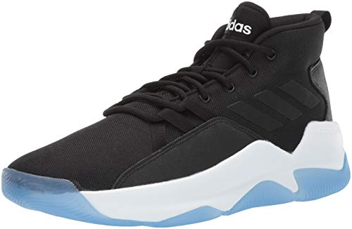 adidas Men's Streetfire, Black/White, 9.5 M US