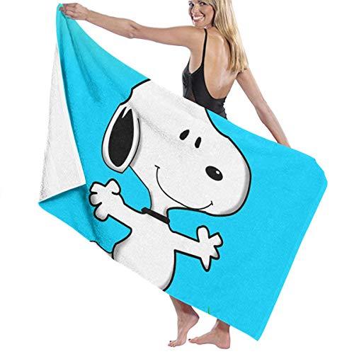 LCXYUJIN Beach Towels Bath Towels Snoopy_Using_Pen_Tool Microfiber Fast Drying Bath Towels Swimming Camping Towel Adults Spa Bath Towel 31