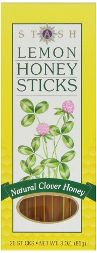 (Stash Tea Lemon Honey Sticks, 20 Count Stick, net wt. 3oz.)