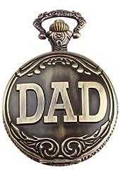 2014 Hot UniqUe DAD Pocket Watch Pendant (Bronze)