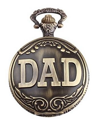 2014 Hot UniqUe DAD Pocket Watch Pendant - Gift For 2014 Dad