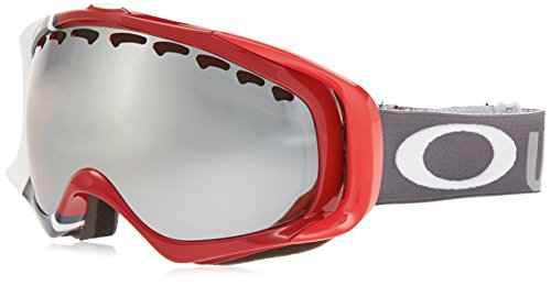 Oakley Crowbar USA Olympic Snow Goggles, Red/Grey, Black - Milestone Oakley