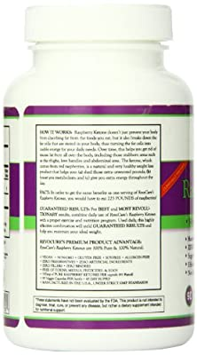 Raspberry Ketones, 500 mg, Pure - Weight Loss Pills, for Men & Women - Weight Loss Supplements - Fat Burner - Metabolism Booster - Appetite Suppressant, Control, Reduction - No Hesitation 30 Day Money Back Guarantee