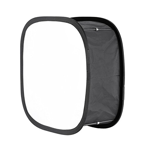 Neewer Collapsible Softbox Diffuser for 480 LED Panel - Outer 16x6.7 inches, Inner 5.6x5.6 inches, with Strap Attachment and Carrying Bag for Photo Studio Portrait Video Shooting by Neewer