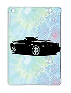 TPU Anti-scratch Cover Case For Ipad Air Cars Vehicles Mustang Black
