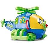 Helicóptero Jumbinho Cardoso Azul/Verde/Amarelo