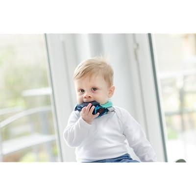 Cheeky Chompers Neckerchew-Dino Friends-0-24 Months-1 : Baby
