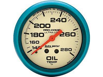 Auto Meter 4541 Ultra-Nite Series Gauge 2-5/8