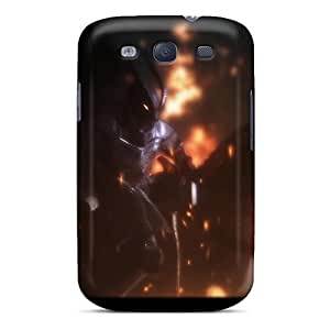 Dcq14AGCL Case Cover Protector For Galaxy S3 Skyrim Firelord Approaches Case by lolosakes