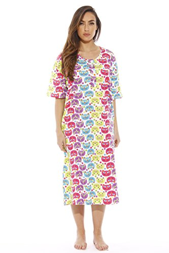 Dreamcrest Short Sleeve Nightgown / Sleep Dress for Women / Sleepwear