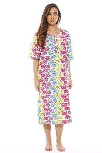 Dreamcrest Short Sleeve Nightgown / Sleep Dress for Women / Sleepwear