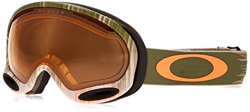 Oakley OO7044-43 A-Frame 2.0 Eyewear, Wet Dry Olive/Orange, Persimmon - 2.0 Ballistic Oakley Goggles