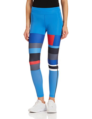 Adidas WOW Women's Printed Tights - AW16 - Large - Blue