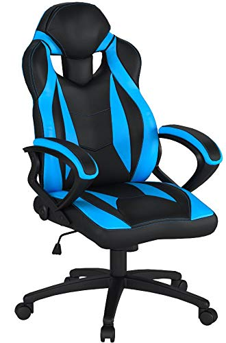 Merax Ergonomic Racing Style PU Leather Gaming Chair for Hom