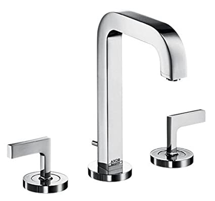 Axor 39135001 Citterio Widespread Faucet with Lever Handles, Chrome ...