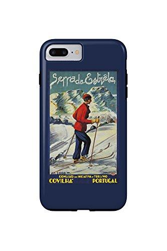 serra-da-estrela-vintage-poster-artist-abrau-portugal-c-1940-iphone-7-plus-cell-phone-case-tough