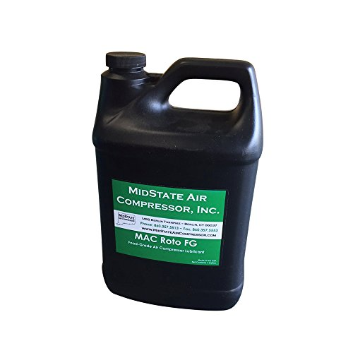 MAC Rotary Screw Food Grade EXTENDED LIFE Air Compressor Lubricant Oil (1 Gallon)
