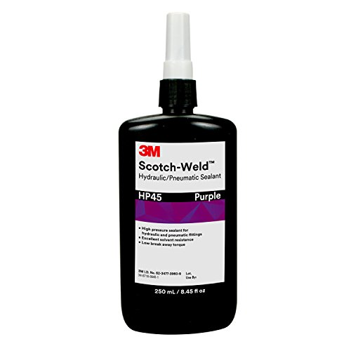 3M Scotch-Weld Hydraulic/Pneumatic Sealant HP45, Purple, 250 mL Bottle