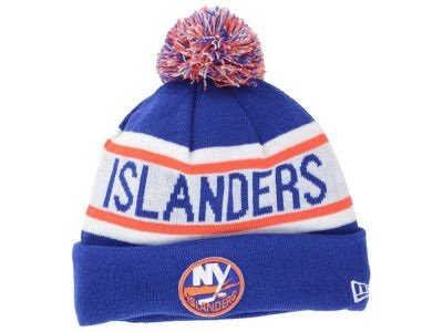 ae3588db468 Image Unavailable. Image not available for. Color  New York Islanders New  Era NHL Biggest Fan Redux Cuffed Knit Hat