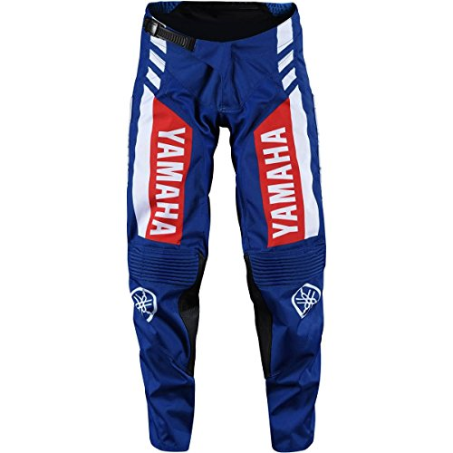 Blue Pant Mx Gear - Troy Lee Designs GP TLD Yamaha RS1 Men's Off-Road Motorcycle Pants - Blue / 32