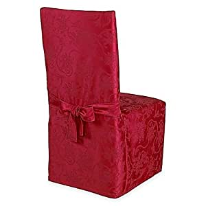 Amazon.com: Christmas Ribbons Dining Room Chair Cover in ...
