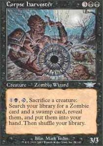 (Magic: the Gathering - Corpse Harvester - Legions - Foil)