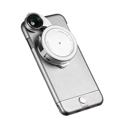 Ztylus 4-in-1 Core Edition Revolver Lens Smartphone Kit for Apple for iPhone 6s Plus/6 Plus: Wide Angle, Macro, Fisheye, CPL, Case Protection, Phone Camera, Photo Video