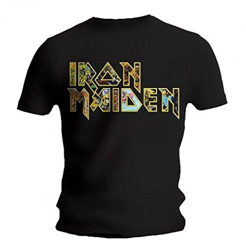 Iron Maiden - Camiseta - Eddie Logo