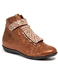 High Top Sneakers with Stones Womens shoes by Lady Couture, ROCK