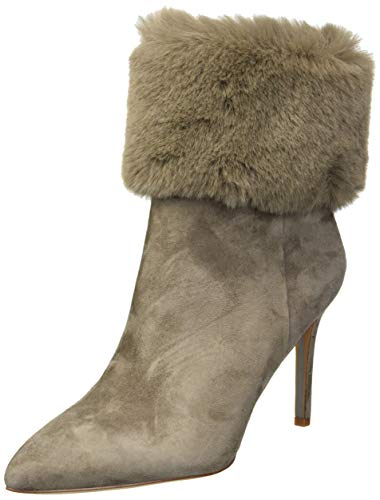 Sam Edelman Women's Oleana Fashion Boot, Flint Grey Suede, 11 M US
