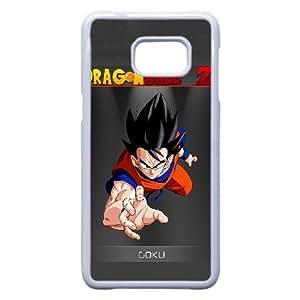 Generic hard plastic DRAGON BALL Anime Cell Phone Case for Samsung Galaxy S6 Edge Plus White B0281