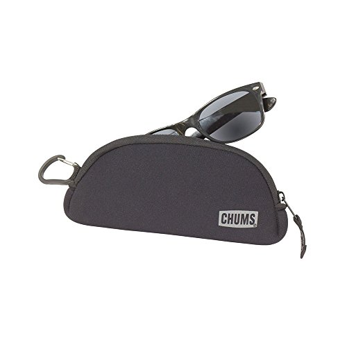 Chums Shade Shelter Sunglass Case in Black by Chums