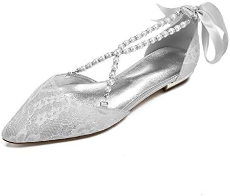 Lianyunneiyi Womens Comfort Shoes Lace Flower Spring Summer
